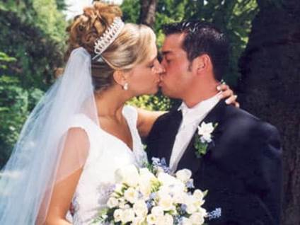 Jon and Kate Gosselin Wedding Photo