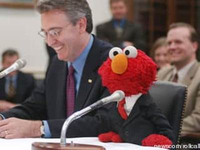 Elmo at Congress