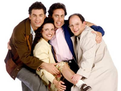 Seinfeld Group Photo