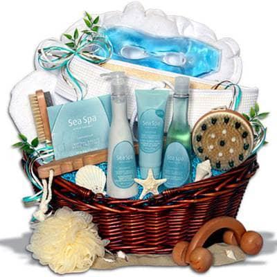 Gift Ideas For Taurus Spa Gift Basket Beliefnet