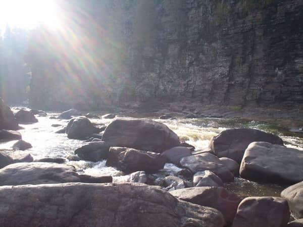 A beautiful stream