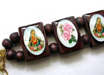 Virgin Mary Bracelet
