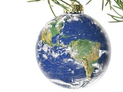 The World Ornament