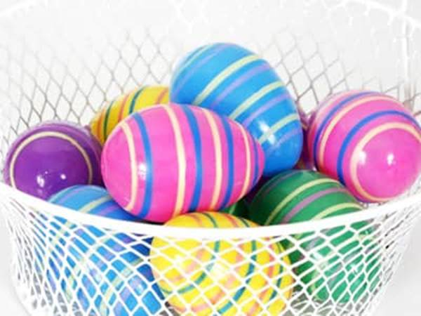 10 Ways To Decorate Easter Eggs Rubber Band Eggs Beliefnet