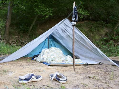 Empty tent