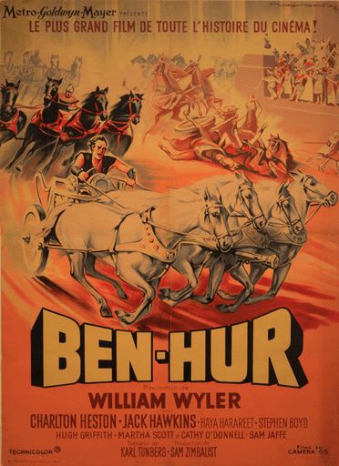 Ben Hur bible movie poster