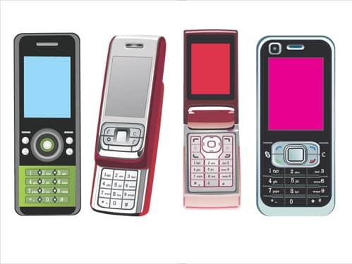 Modern cell phone gadgets