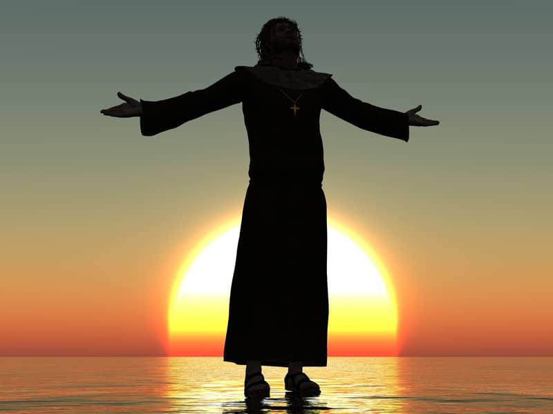 Jesus Sunset