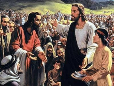 Jesus Feeds