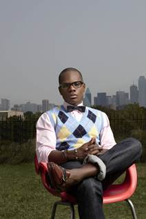 Kirk Franklin in chair
