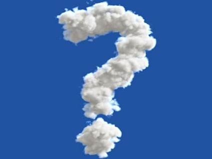 Sky question mark
