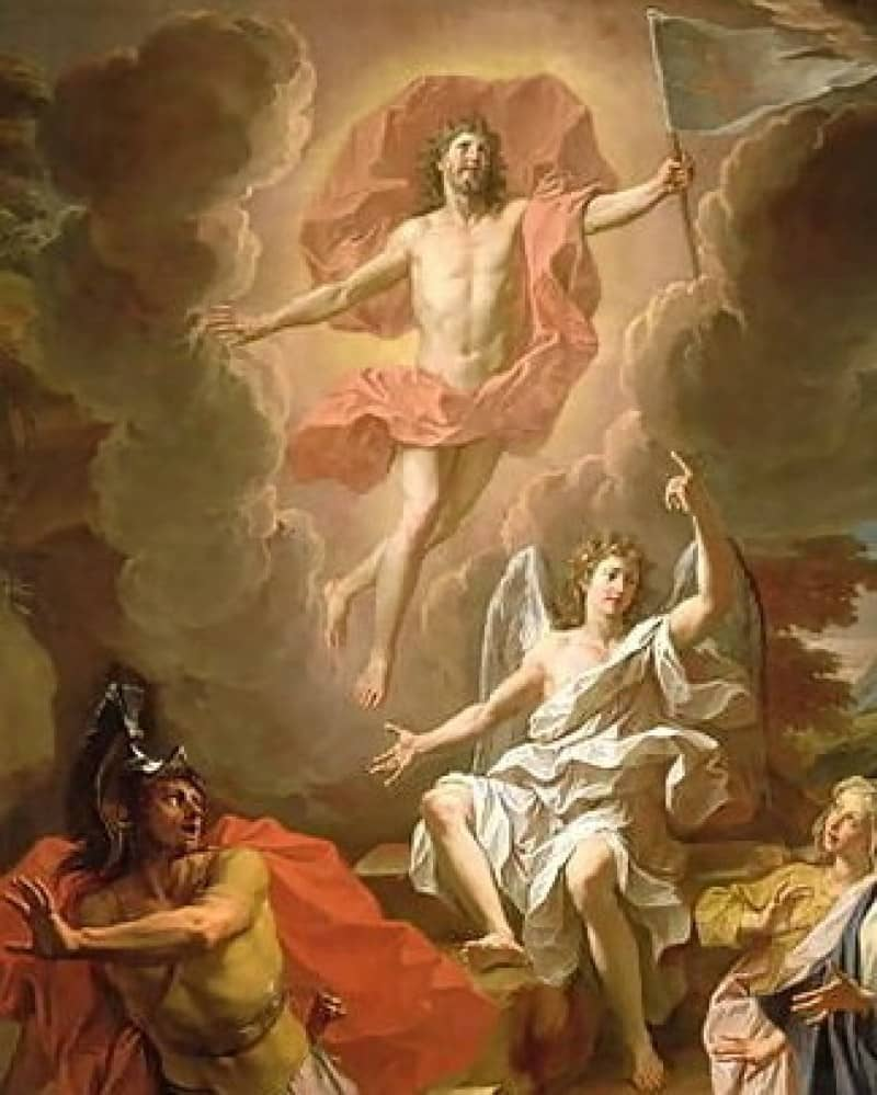 Jesus Risen Painting | www.pixshark.com - Images Galleries ...