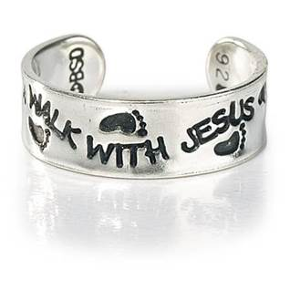 Walk with Jesus Ring