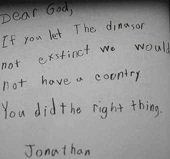 Dear God Funny Letters from Kids to the Almighty Beliefnet