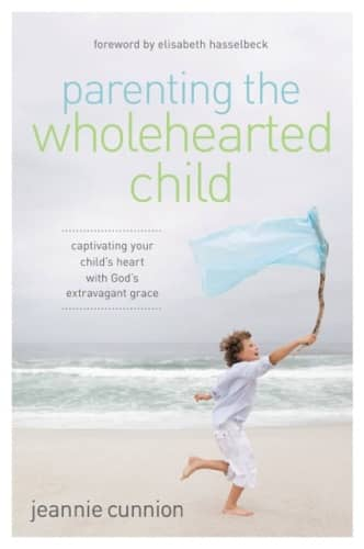 parenting the wholehearted child book cover