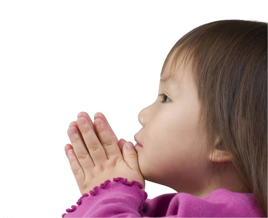 kid praying
