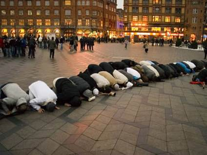 Copenhagen Protests by Muslims