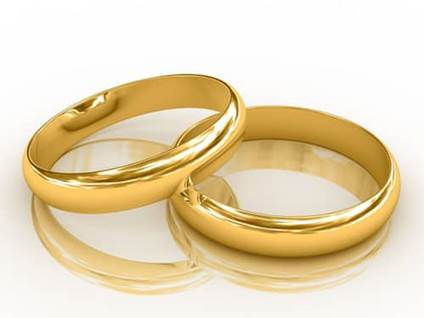 Wedding Rings, gold bands