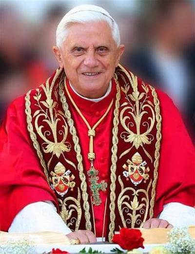 Image result for pope benedict xvi