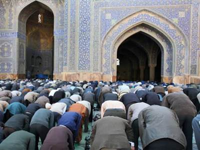 Mosque Congregation praying