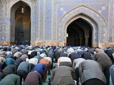 Mosque Congregation praying