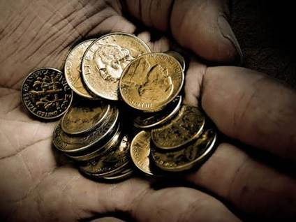 Coins in Hand, Charity