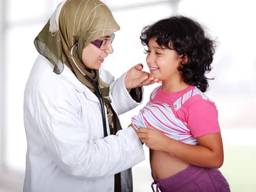 Female Muslim Doctor