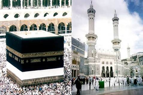 Hajj, Ka'ba, The Grand Mosque