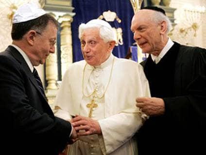 pope benedict xvi rabbi arthur