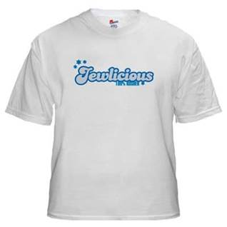 Jewlicious Jewish tshirt
