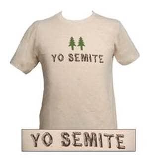 Yo Semite Jewish tshirt