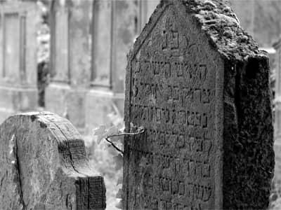 Jewish Cemetary Gravestones