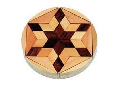 Star David Mosaic Puzzle Hanukkah