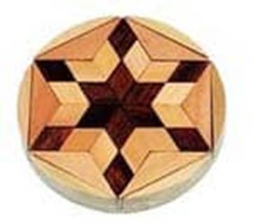 Star of David Mosaic Puzzle