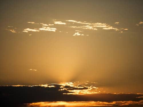 Inspiring sunrise