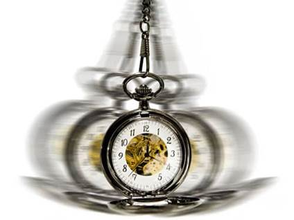 Waving pocketwatch