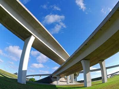Overlapping highways