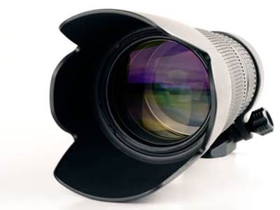 Long photography lens