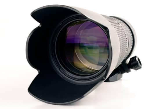 Long photography lens