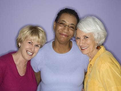 Group of women friends