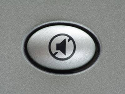 Mute button