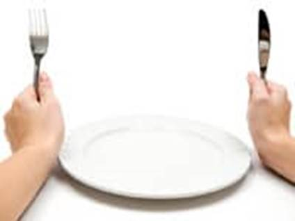 plate knife fork eat eating