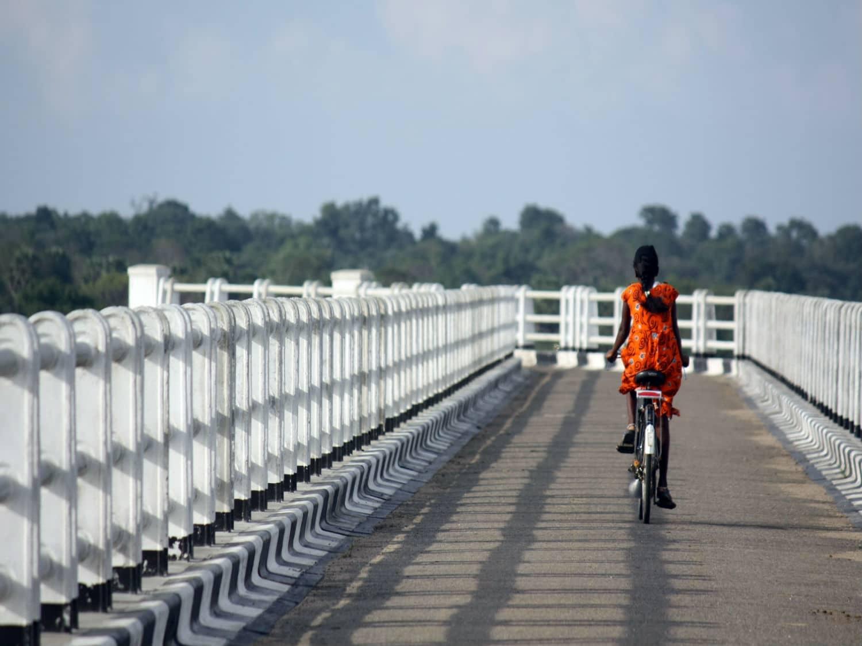 Bicycle Tamil girl