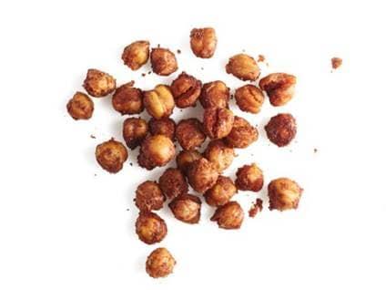 crunchy chickpeas
