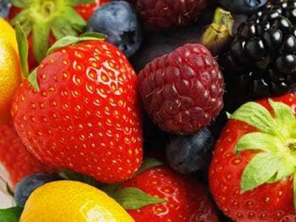 Fruits, berries