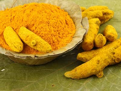Curry, tumeric