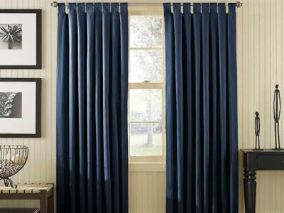 Dark Blue Curtains