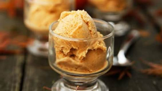pumpkin spice icecream