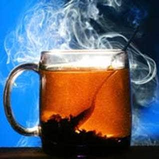 black tea vitamin manganese potassium caffeine
