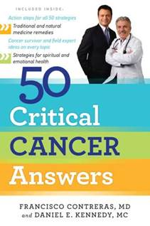 50 Critical Cancer Answers Book Cover